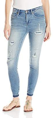 Juicy Couture Black Label Women's Dnm Embroidered Skinny Jean $198 thestylecure.com