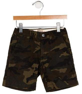 Go To Hollywood Boys' Camouflage Printed Shorts