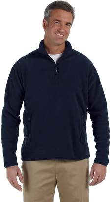 Chestnut Hill CH970 Polartec® Colorblock Quarter-Zip Fleece Jacket