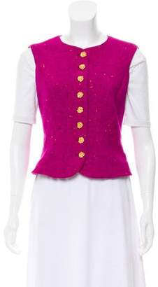 Ungaro Tweed Wool Vest