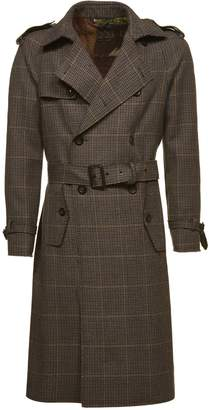 Etro Checked Trench