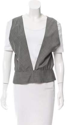 Balenciaga Sleeveless Wool Top w/ Tags