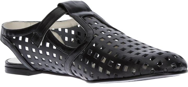 Jil Sander Navy closed toe sandal