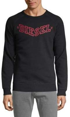 Diesel Long-Sleeve Logo Sweatshirt