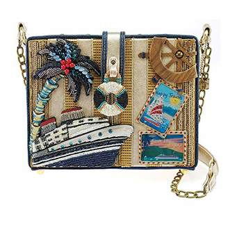 Mary Frances Get Away Embellished Travel Novelty Handbag