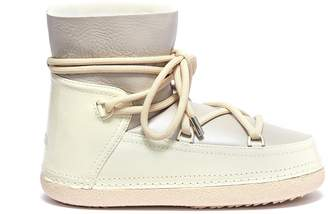 INUIKII 'Gloss' water resistant lambskin shearling sneaker boots