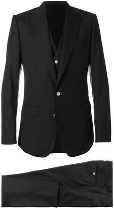 Dolce & Gabbana three piece formal suit