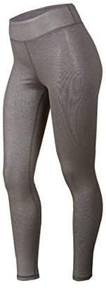 Soffe Junior's Plus Size Juniors Curvy Slay Metallic Legging