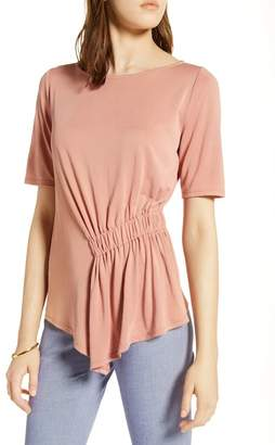 Halogen Ruched Waist Top (Petite)