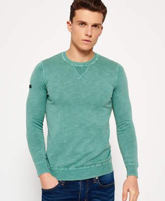 Superdry Garment Dyed L.A Crew Neck Jumper