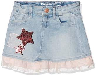 Desigual Girl's FAL_granollers Skirt,(Manufacturer Size: 13/14)