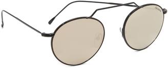 Illesteva Wynwood II Sunglasses $195 thestylecure.com