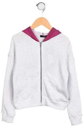 Zara Terez Girls' Hooded Zip-Up Sweatshirt w/ Tags