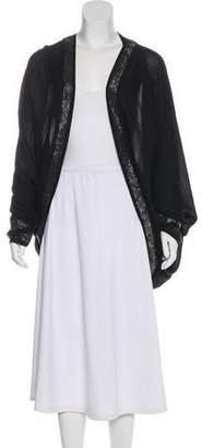 Sass & Bide Embellished Silk Robe