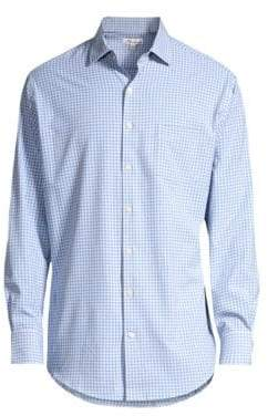 Peter Millar Hills Gingham Sport Shirt