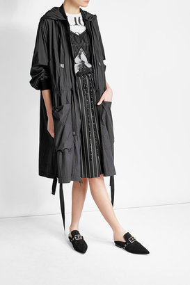 DKNY Zipped Coat with Hood $609 thestylecure.com