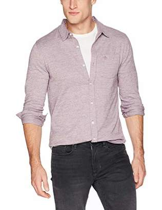 Original Penguin Men's Long Sleeve Knit Button Down