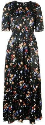 ADAM by Adam Lippes floral-print smocked maxi dress