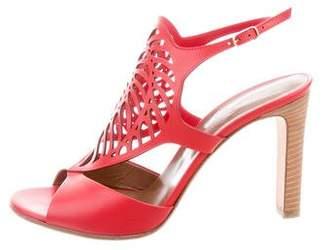 Hermes Nautilus Laser Cut Sandals