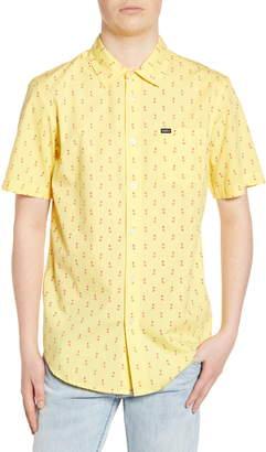Obey Ellis Print Poplin Shirt