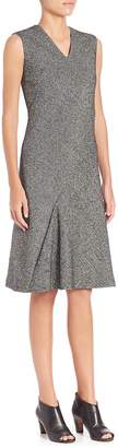 Maison Margiela Women's Sleeveless V-Neck Tweed Dress