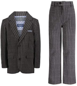 Andy & Evan Boys' Dapper Dude Two-Piece Pinstripe Suit, Size 2-7