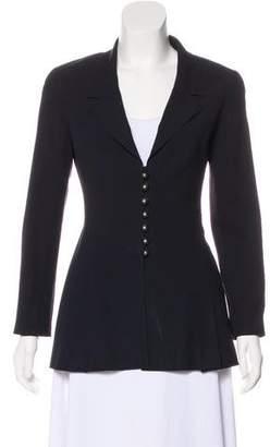 Chanel Notch-Lapel Wool Blazer