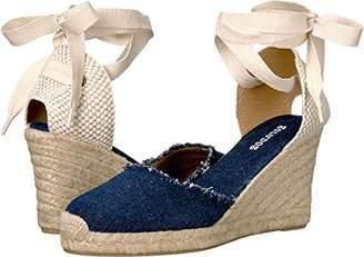Soludos Women's Tall Denim Espadrille Wedge Sandal
