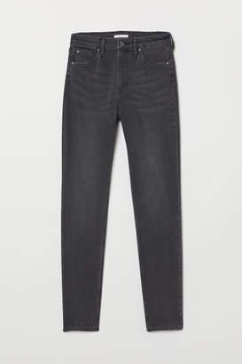 H&M Skinny High Waist Jeans - Gray