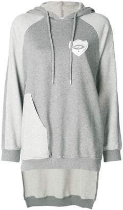 Each X Other high-low hem panelled hoodie