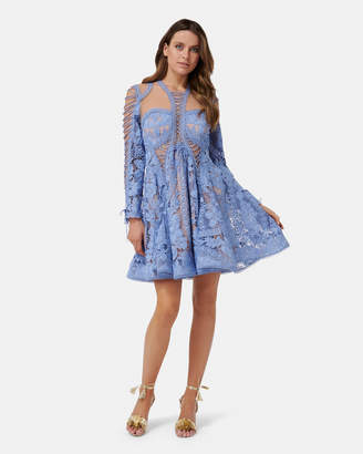 Thurley Bluebell Lace Dress