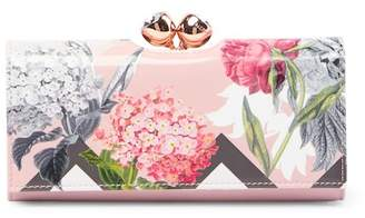 Ted Baker Bret Palace Gardens Bobble Matinee Leather Wallet