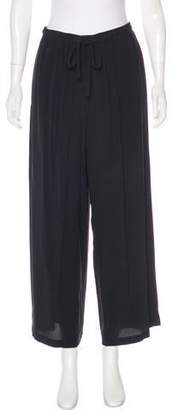 eskandar High-Rise Silk Pants