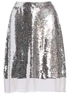 Stella McCartney Sequin Silk Chiffon Skirt