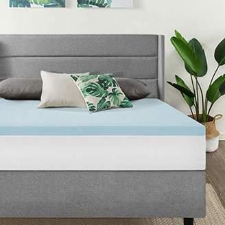 Best Price Mattress Queen Mattress Topper - 1.5 Inch Gel Memory Foam Bed Topper with Cooling Mattress Pad
