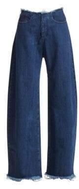 Marques Almeida Denim Boyfriend Jeans