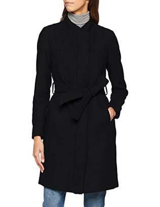 a8e35743c623 Selected Women's Slfdea Wool Coat B Coat, Grey (Medium Melange Detail: MGM/