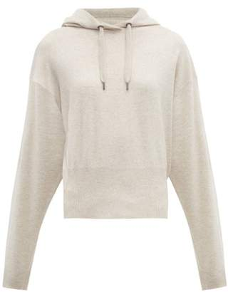 Brunello Cucinelli Hooded Cashmere Sweater - Womens - Cream
