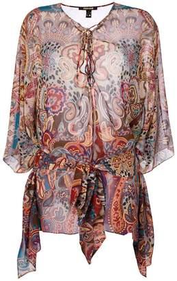 Roberto Cavalli patterned top