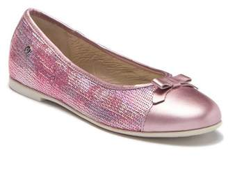 Naturino 4076 Sequin Leather Bow Flat (Toddler, Little Kid, & Big Kid)