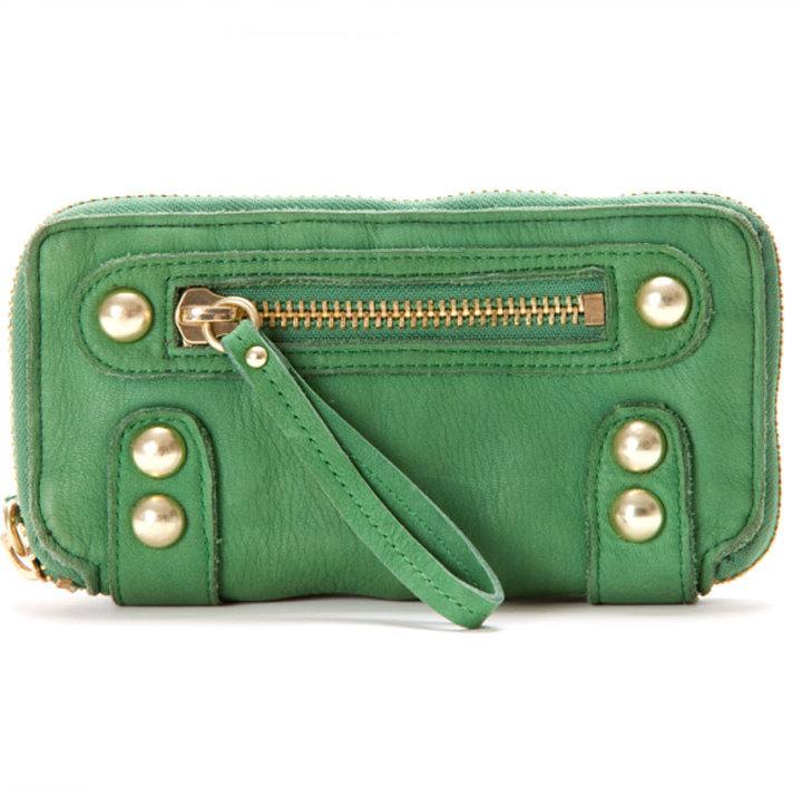 Linea Pelle Collection Dylan Long Zip Wallet