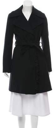 Tahari Knee-Length Wool Coat