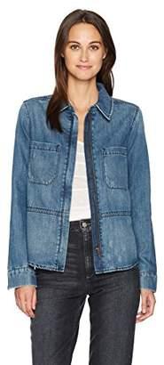 Level 99 Women's Nicolette Zipper Front Shirt/Jacket