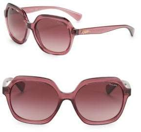 Ralph Lauren Ralph By Eyewear 57MM Square Sunglasses