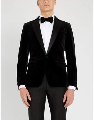 DSQUARED2 Velvet regular-fit tuxedo jacket