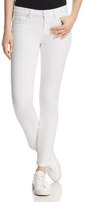 Paige Skyline Ankle Peg Jeans in Crisp White