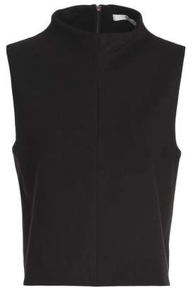 Tibi Stretch-Ponte Turtleneck Top