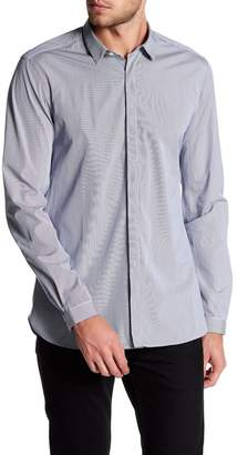 The Kooples Micro Stripe Classic Fit Dress Shirt