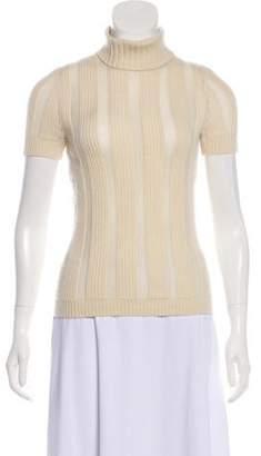 Celine Céline Short Sleeve Turtleneck Sweater Céline Short Sleeve Turtleneck Sweater