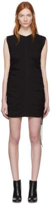 Alexander Wang Black High Twist Side Tie Dress